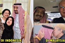 10 Foto tunjukkan beda kunjungan Raja Salman di  Indonesia & Malaysia