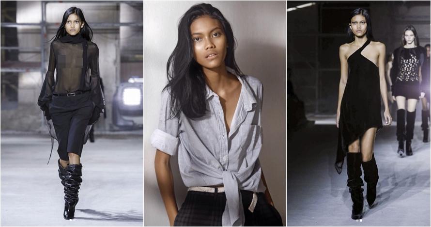 Laras Sekar, model Indonesia yang melenggang di Paris Fashion Week