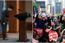 Presiden Korsel resmi dimakzulkan, rakyat Negeri Ginseng berpesta