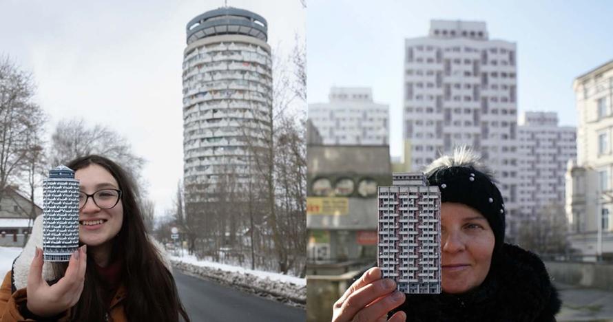 15 Miniatur gedung dari kertas ini mirip banget sama aslinya