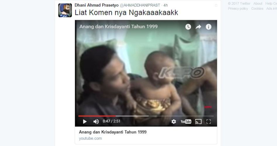 Ahmad Dhani tiba-tiba komentari video Anang & KD tahun 1999, ada apa?