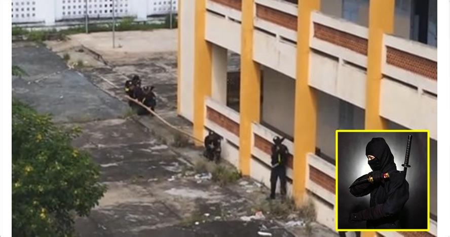 Pasukan khusus Vietnam unjuk kebolehan, aksinya bak ninja di kehidupan
