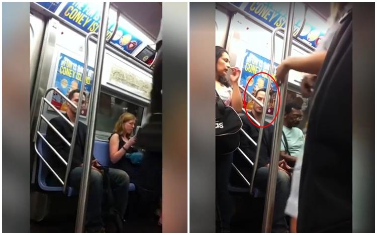 Nggak nyangka, sosok beri kursi pada wanita di subway ini artis beken