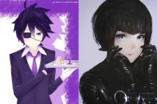 10 Lukisan anime dari cat air ini terlihat nyata banget