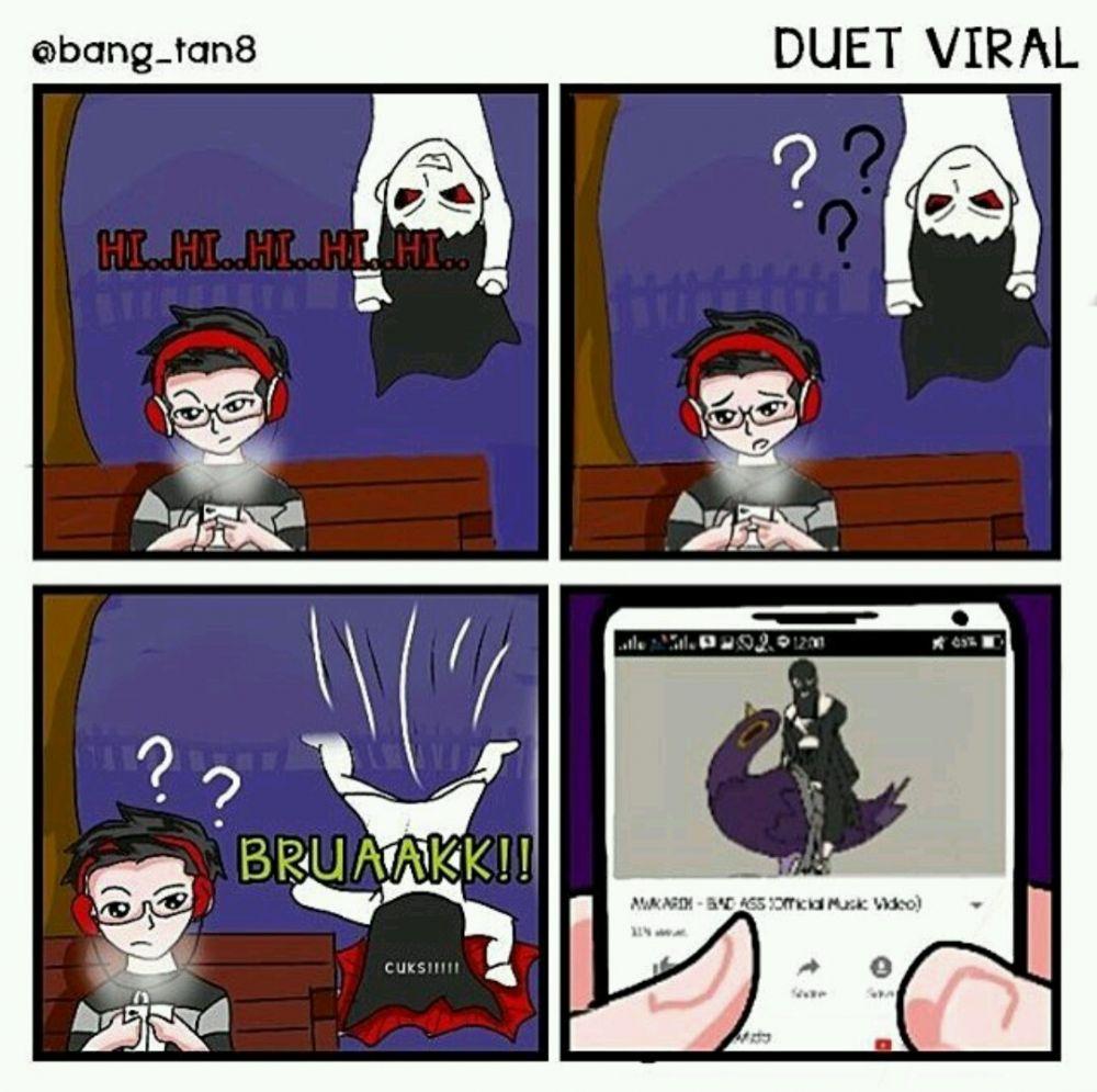 14 Komik Strip Tema Horor Ini Kocak Abis Bikin Takut