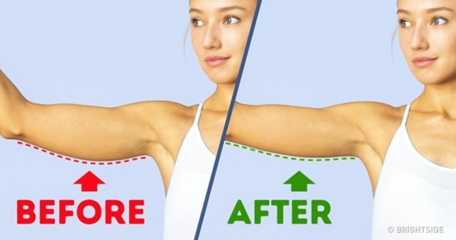 6 Gerakan sederhana ini terbukti ampuh kencangkan lenganmu, cobain yuk