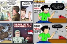 7 Komik strip sindir kasus E-KTP ini bikin nyengir-nyengir sendiri