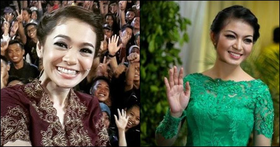 Disebut mirip, ini beda gaya mantu Presiden Jokowi dengan Maya Septha