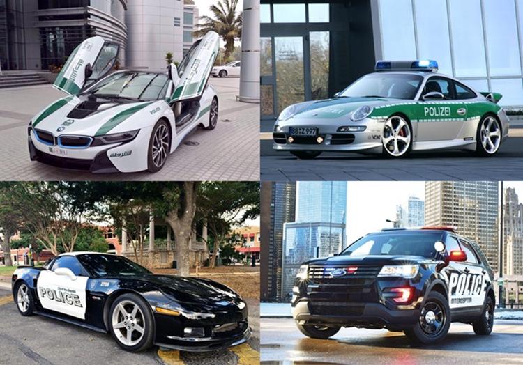Nggak cuma Dubai, 7 negara ini polisinya juga pakai mobil super mewah