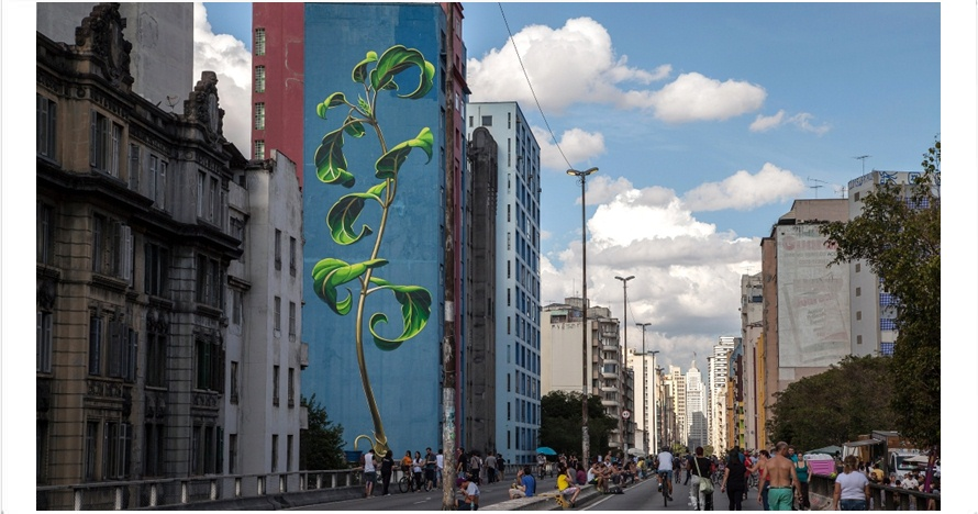 14 Mural street bikin serasa berada di negeri dongeng, kece ngets nih
