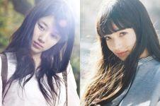 10 Foto ini bukti Suzy 'Miss A' mirip sama seleb Jepang Nana Komatsu