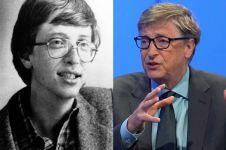 15 Foto langka masa  remaja Bill Gates, hayo pangling nggak?