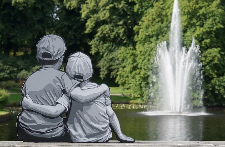 14 Instalasi seni di ruang publik ini bikin kesan dunia imajiner