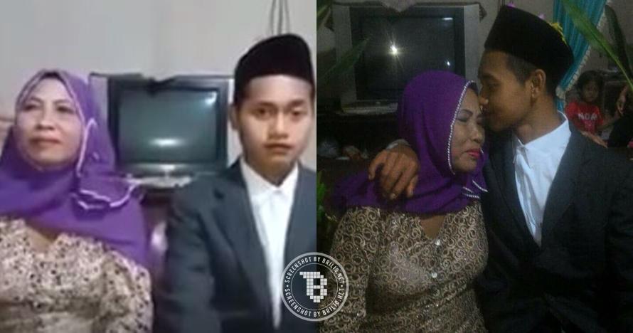 Pemuda 24 tahun ini nikahi wanita 67 tahun, bukti jodoh memang misteri