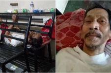 Kisah sedih kakek ditelantarkan anak kandungnya di rumah sakit, miris