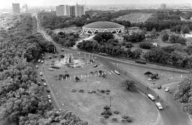 10 Foto Jadul Suasana Jakarta Saat Awal Kemerdekaan Ini Penuh Mak