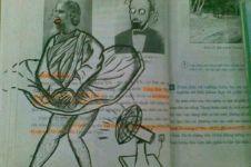 10 Gambar iseng usir bosan di kelas ini kreatif abis dan bikin ngakak