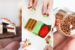 20 Foto kreasi makanan super mini ini mirip banget sama aslinya