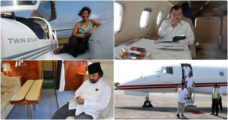 7 Tokoh Indonesia yang miliki jet pribadi, jenisnya apa saja ya?