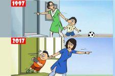 11 Ilustrasi lucu ini tunjukkan kalau internet ubah gaya hidup manusia