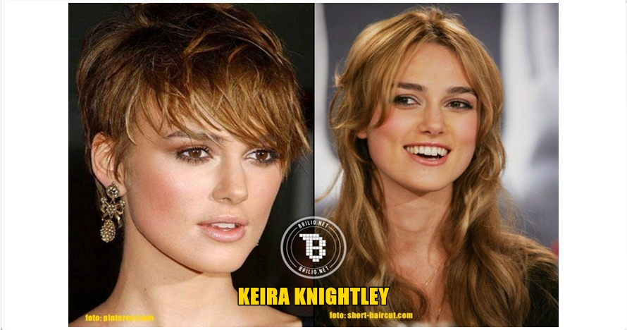 15 Beda gaya aktris Hollywood saat berambut pendek vs panjang