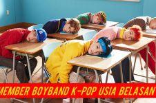 12 Member boyband K-Pop usia belasan ini bukti mereka cakep dari kecil