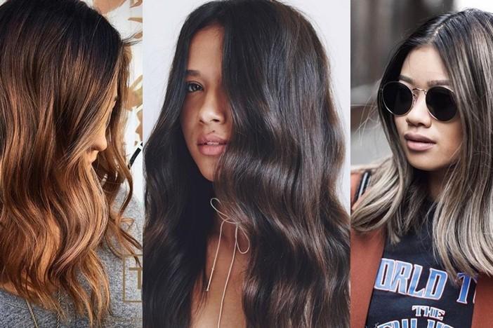 14 Gaya pewarnaan rambut brunette ini cocok untuk cewek Indonesia