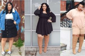 Gaya 13 fashion blogger ini bukti cantik tak melulu berbadan langsing