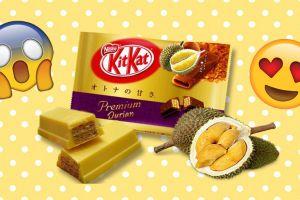 Setelah pizza dan sushi, kini bakal ada Kit Kat rasa durian