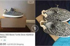 Order online sepatu gaul, dapatnya sepatu kodok, oalah nasib