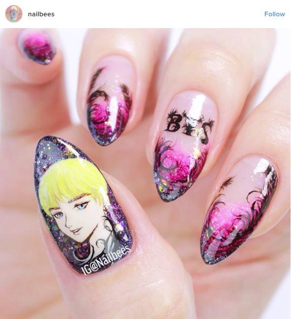 kpop nail art © 2017 berbagai sumber
