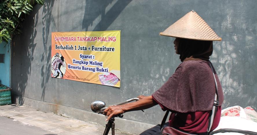 Biar aman, desa ini bikin sayembara tangkap maling berhadiah Rp 1 juta