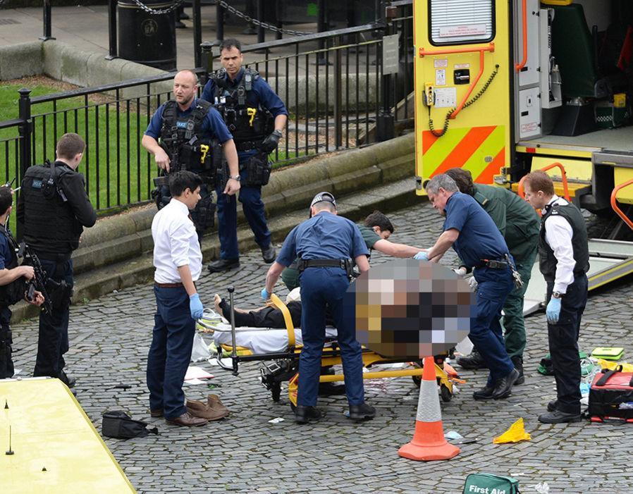 teror di Gedung Parlemen Inggris © 2017 express.co.uk