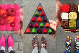 10 Dessert ini selalu matching dengan sepatu, kreatif banget deh