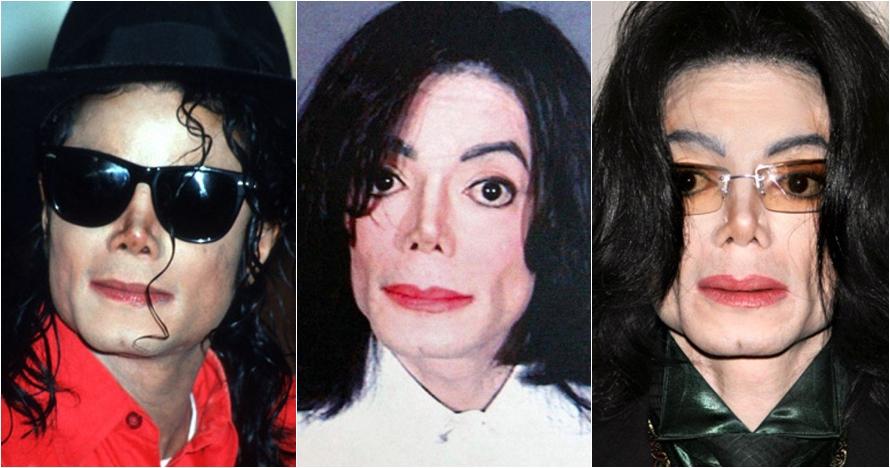Evolusi perubahan penampilan Michael Jackson ini jarang orang tahu