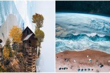 15 Foto pemandangan menakjubkan kombinasi dari 2 alam, imajinatif abis