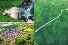 15 Potret Yogyakarta dari udara ini indahnya siap manjakan matamu