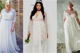 6 Model gaun pengantin buat kamu yang miliki badan plus size, elegan