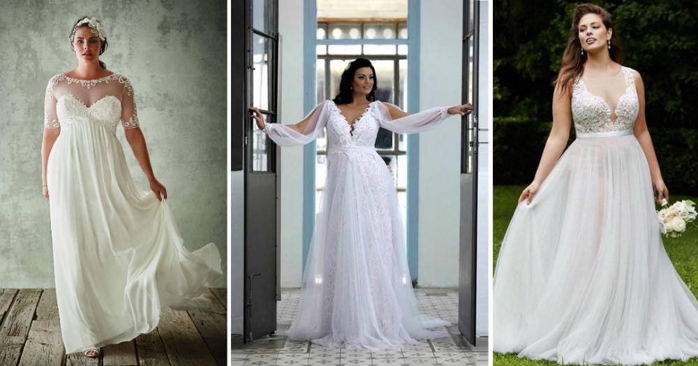 model gaun pengantin plus size  © 2017 berbagai sumber