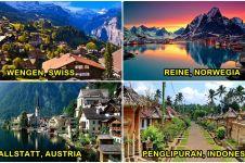 10 Desa wisata ini disebut desa terindah di dunia, Indonesia juga ada