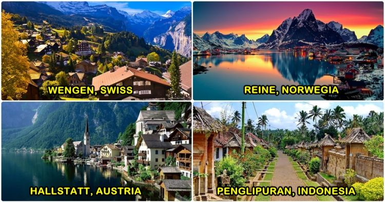 10 Desa Wisata Ini Disebut Desa Terindah Di Dunia Indonesia
