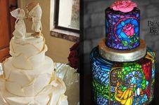 Lagi hits, 13 kue bertema Beauty and The Beast ini bikin terpana