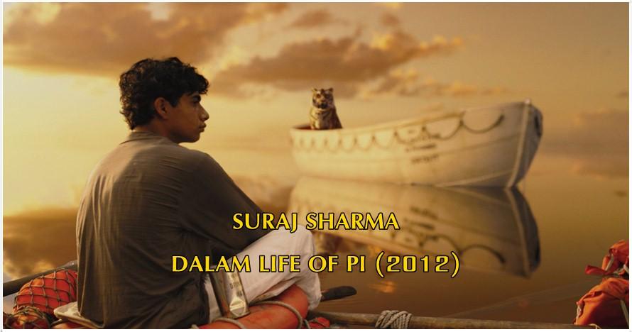 Potret penampilan terkini Suraj Sharma, pemeran utama Life of Pi