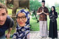 Kisah cinta traveler asal Belanda, jadi mualaf demi nikahi gadis Medan