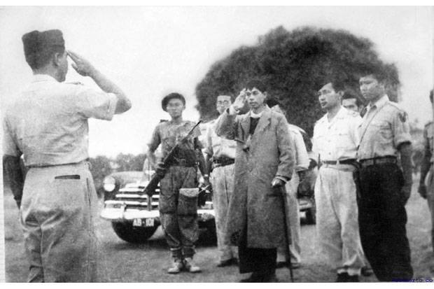 10 Foto langka Jenderal Sudirman, bukti sosok berwibawa banget
