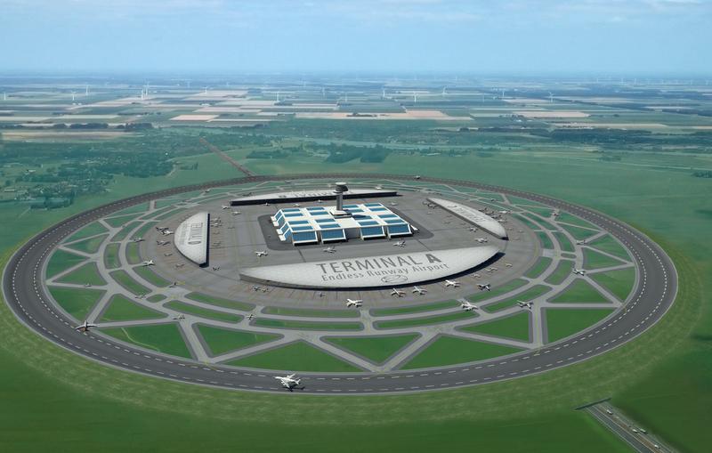 Circular Runway, inovasi baru yang bisa kurangi lahan bandara