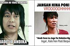 10 Meme Andika Kangen Band ini klasik abis, kocaknya awet banget