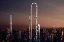 Ini dia calon gedung lipat terpanjang di dunia, wow banget
