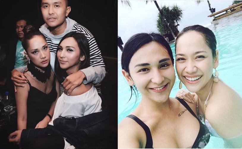 Potret persahabatan BCL & Dena Rachman, tak kalah hits dari geng Jedar