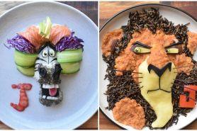 16 Menu makanan sehat berbentuk karakter kartun ini menggugah selera